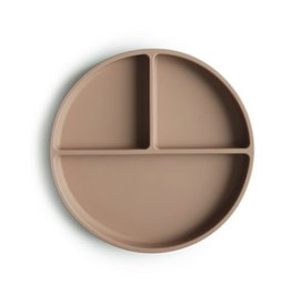 Mushie & Co Silicone Suction Plate, Natural