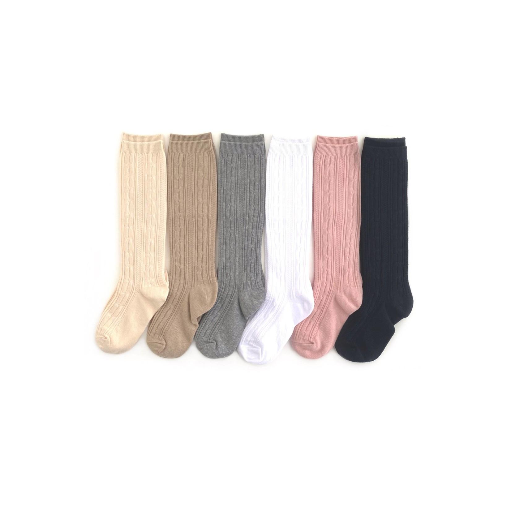 Little Stocking Co. Basics + Neutrals Cable Knit Bundle