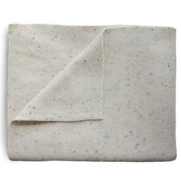 Mushie & Co Knitted Confetti Baby Blanket (Ivory)