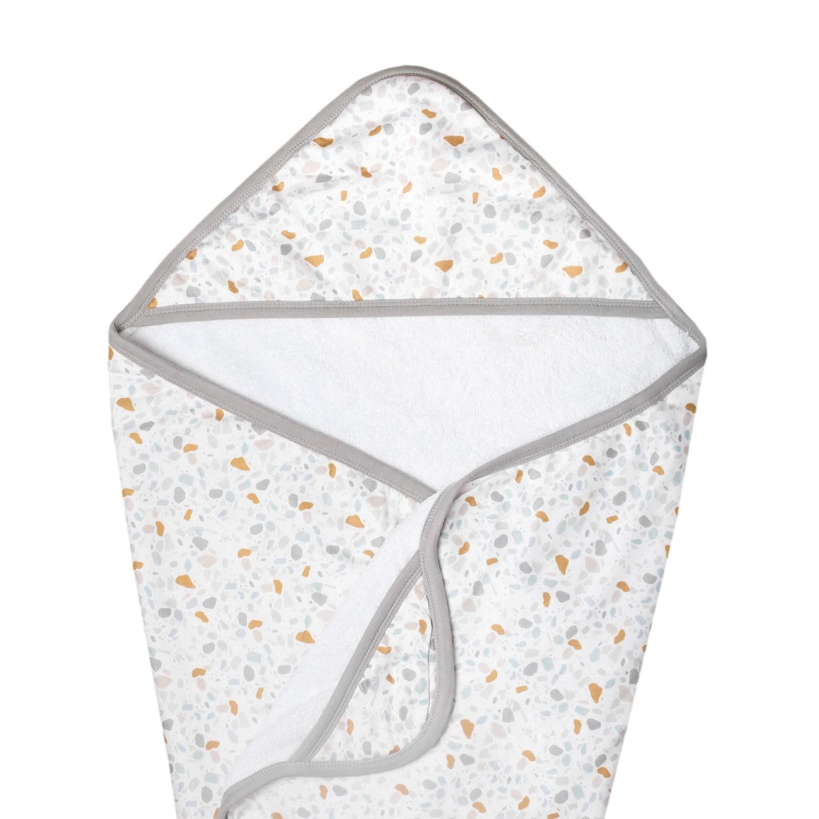 Copper Pearl Knit Hooded Towel - Arlo