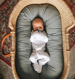 Loved Baby Organic Footie White Newborn