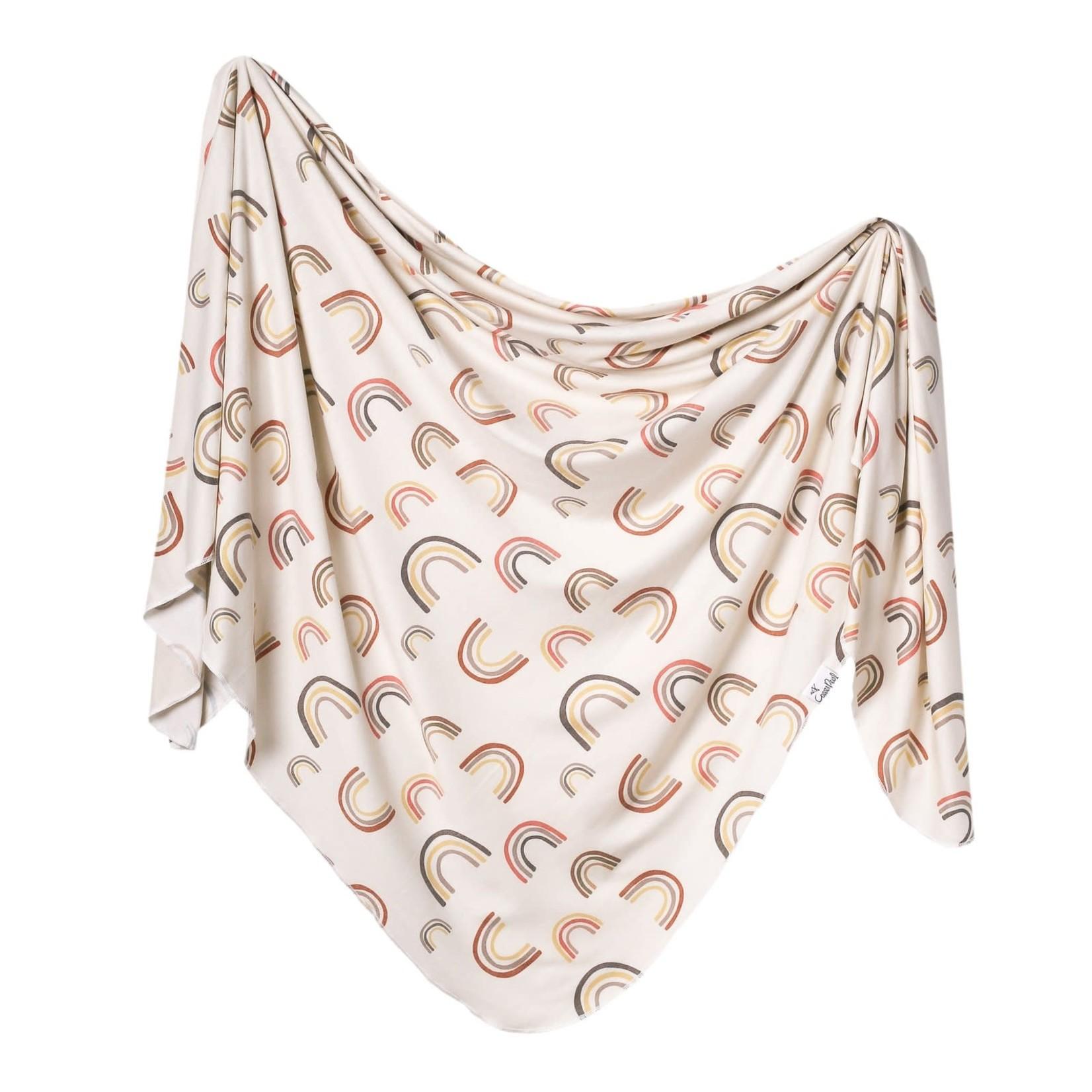 Copper Pearl Knit Blanket - Kona