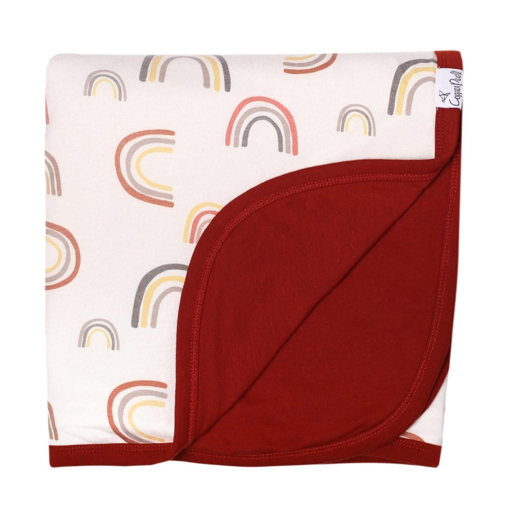 Copper Pearl Three-Layer Stretch Quilt - Kona