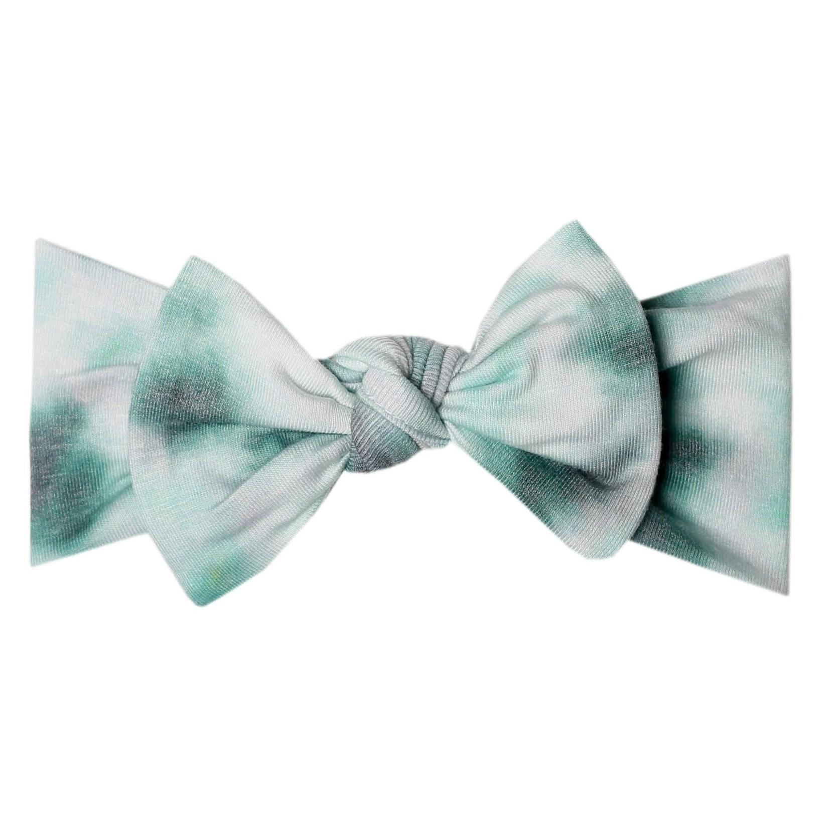 Copper Pearl Knit Headband - Bahama