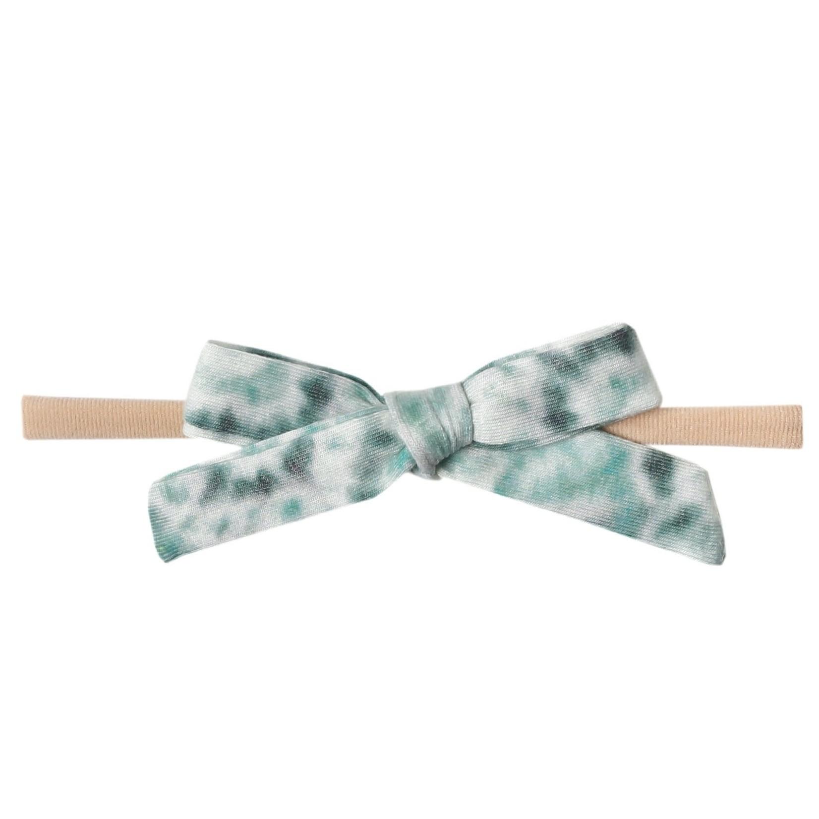 Copper Pearl Ribbon Headband - Bahama