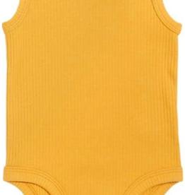 Petit Lem Sunshine/Gold Bodysuit 6M