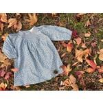 Vignette Rosie Baby Dress - Blue Floral