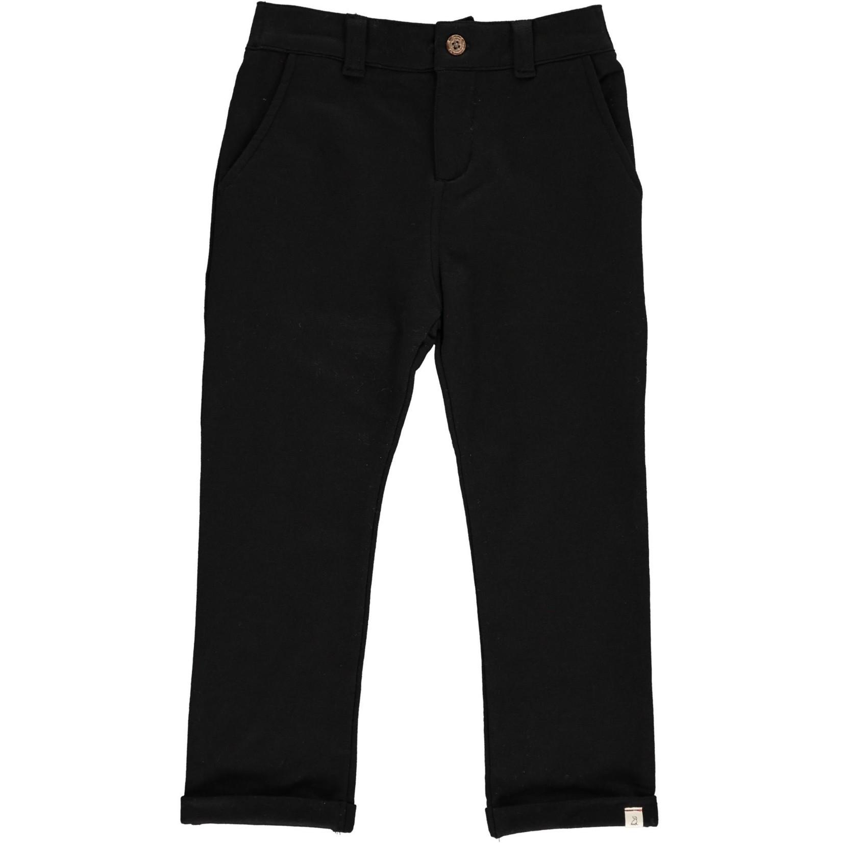 Me + Henry Jersey Boys Pant - Black