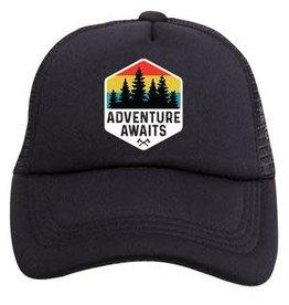 Tiny Trucker Co. Adventure Awaits Trucker Hat - Youth