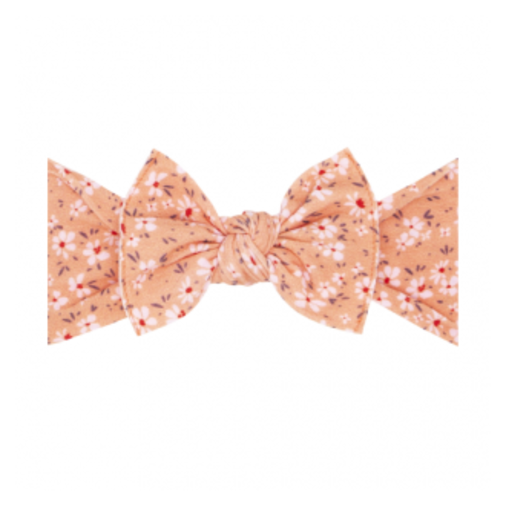 Baby Bling Bows Printed Knot - Dogwood