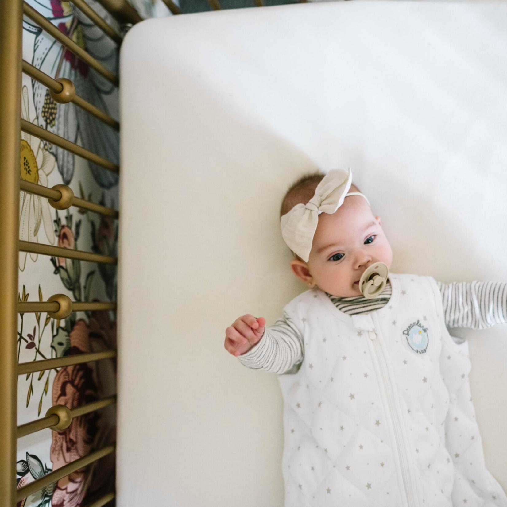 Dreamland Baby Dream Weighted Sleep Sack Grey Stars, 0-6 months