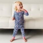 Little Sleepies Two Piece Pajama Set Wild Leopard
