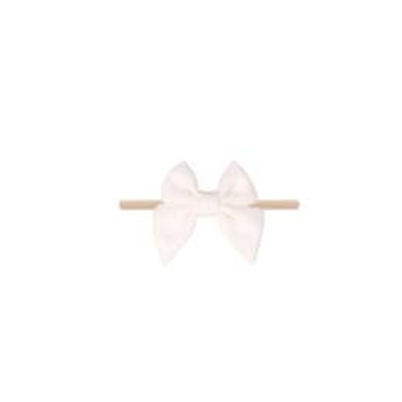 Emerson and Friends White Cotton Bow Baby Headband