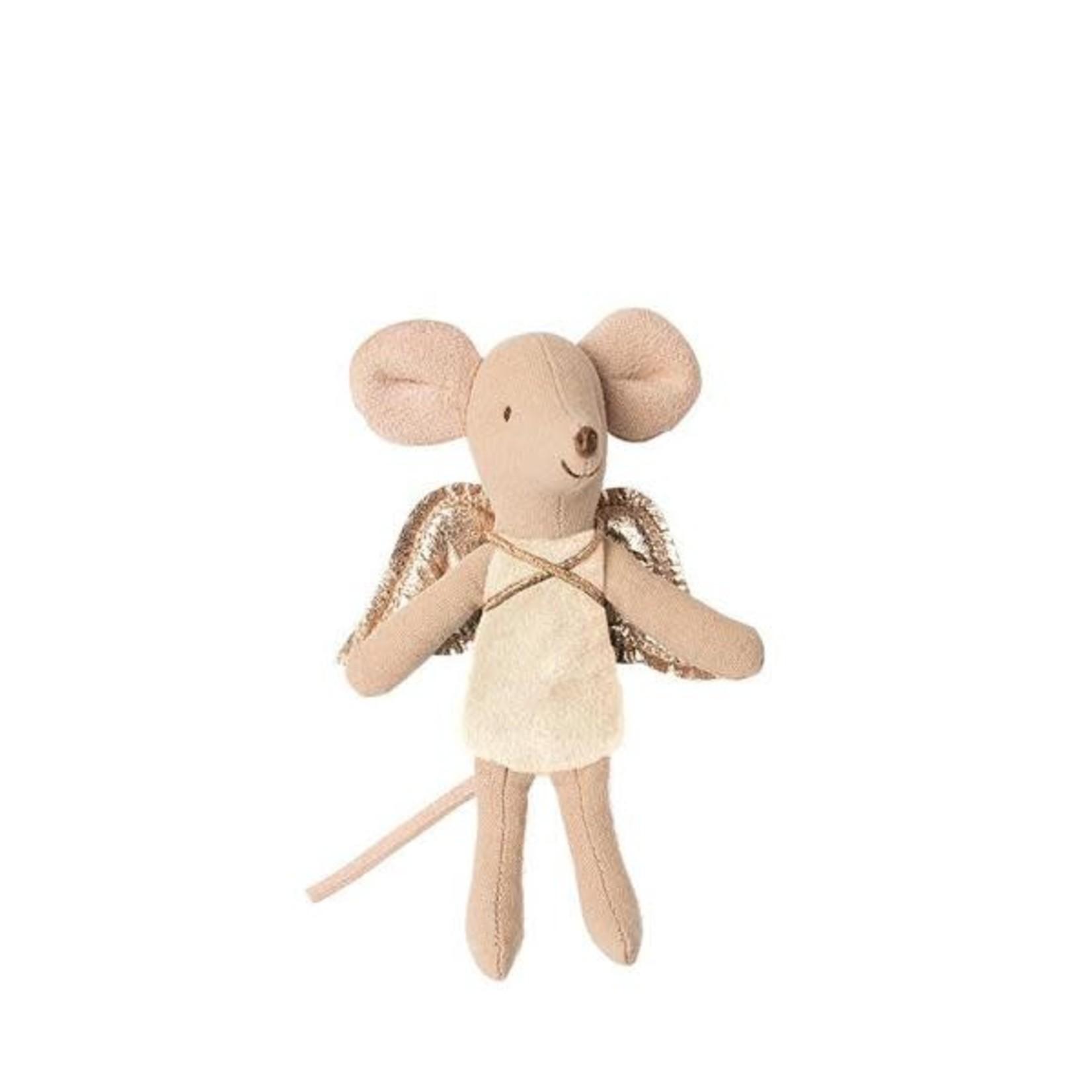 Maileg Fairy Little Sister Mouse - Cream