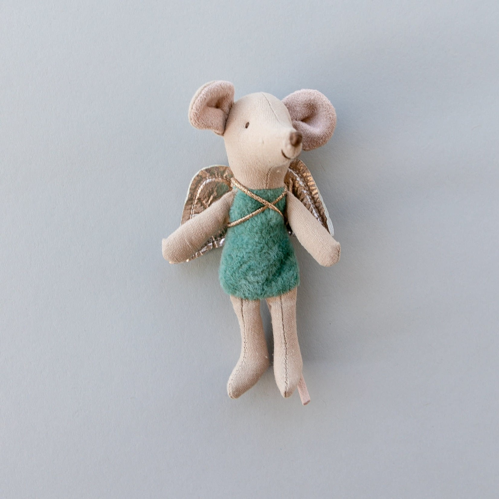 Maileg Fairy Little Sister Mouse - English Blue