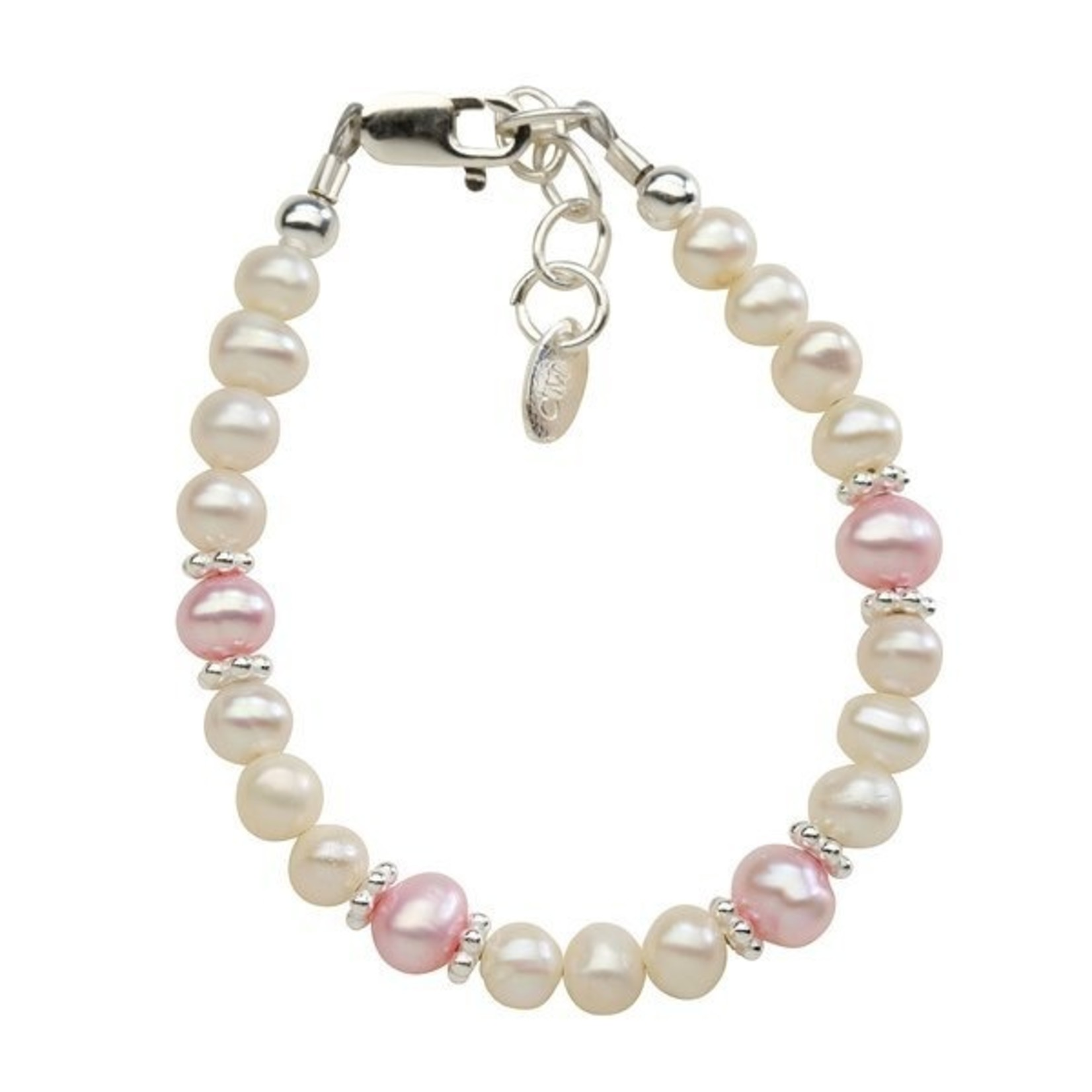 Cherished Moments Addie - (SM) Pink/white freshwater pearls