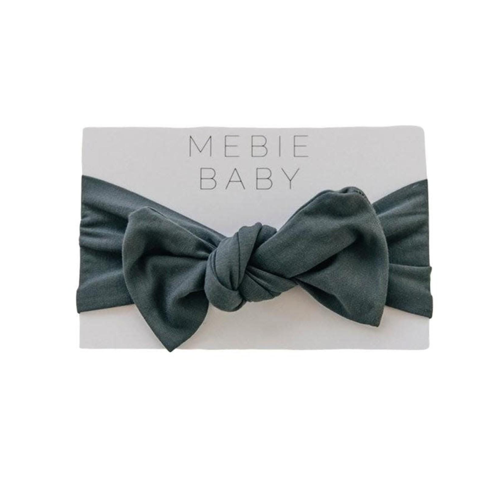 Mebie Baby Head Wrap - Charcoal