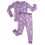 Little Sleepies Two Piece Pajama Set Sienna's Unicorns
