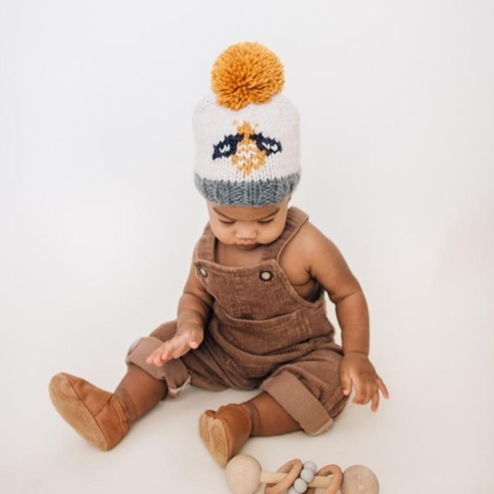 Huggalugs Bumblebee Knit Beanie Hat