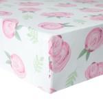 Copper Pearl Premium Crib Sheet Grace