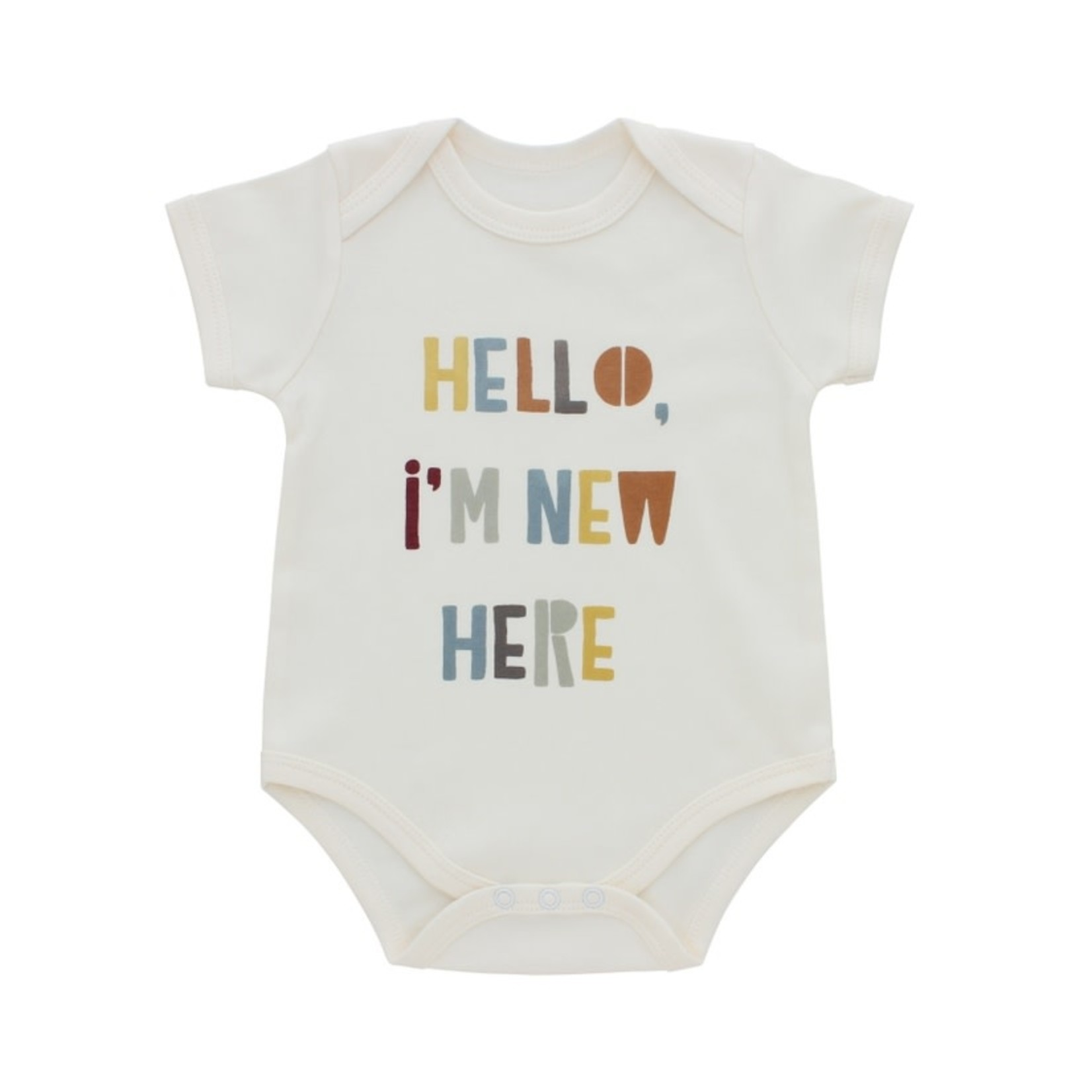 Emerson and Friends Hello I'm New Here Onesie 0-3M