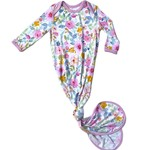 Little Sleepies Knotted Gown Bella Blooms