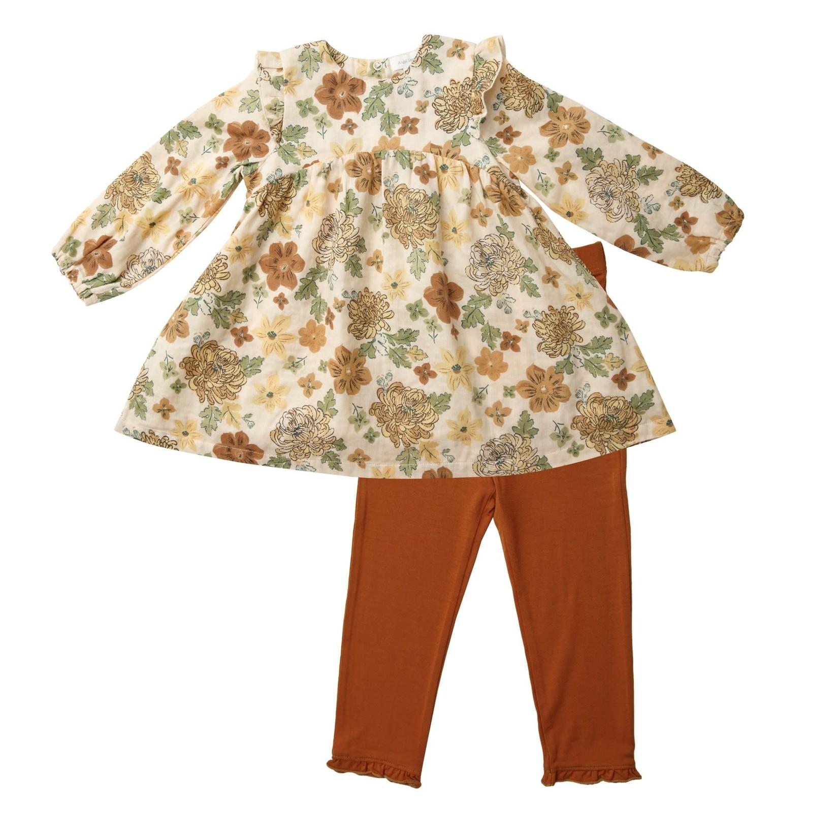 Angel Dear Dress and Legging Set, Chrysanthemum