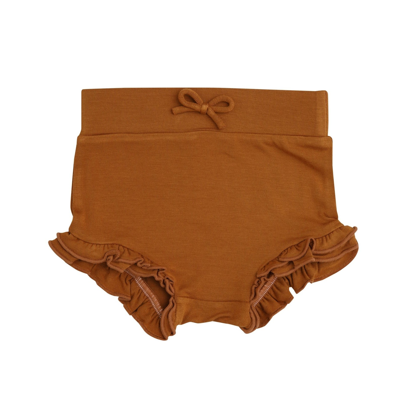 Angel Dear High Waist Shorts, Brown