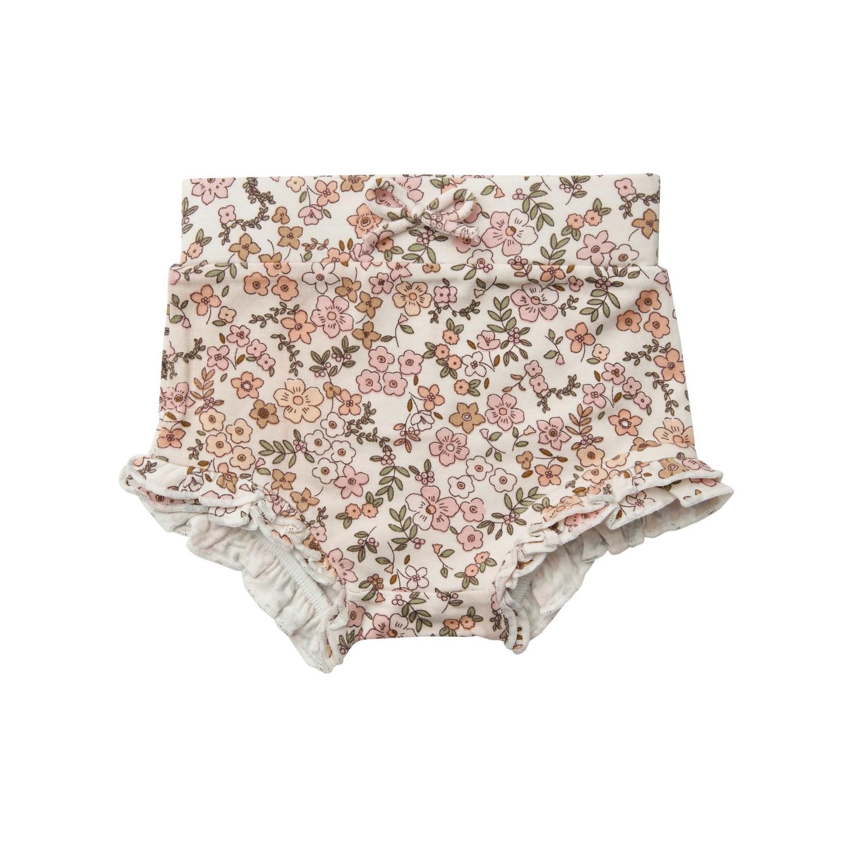 Angel Dear High Waist Shorts, Vintage Calico