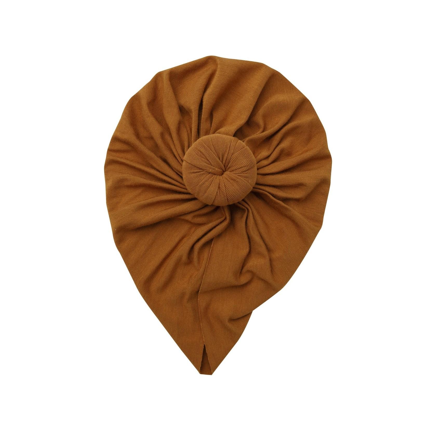 Angel Dear Headwrap, Brown 6-12M