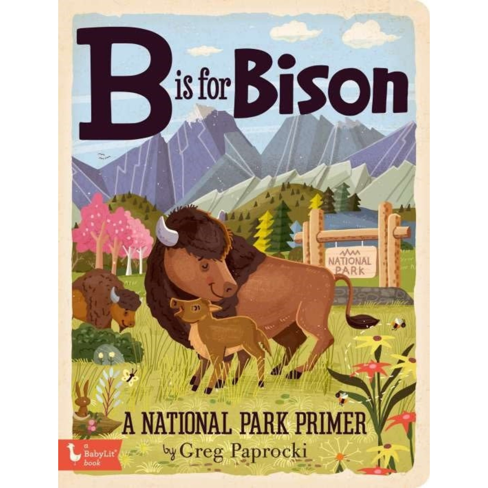 Gibbs Smith B is for Bison