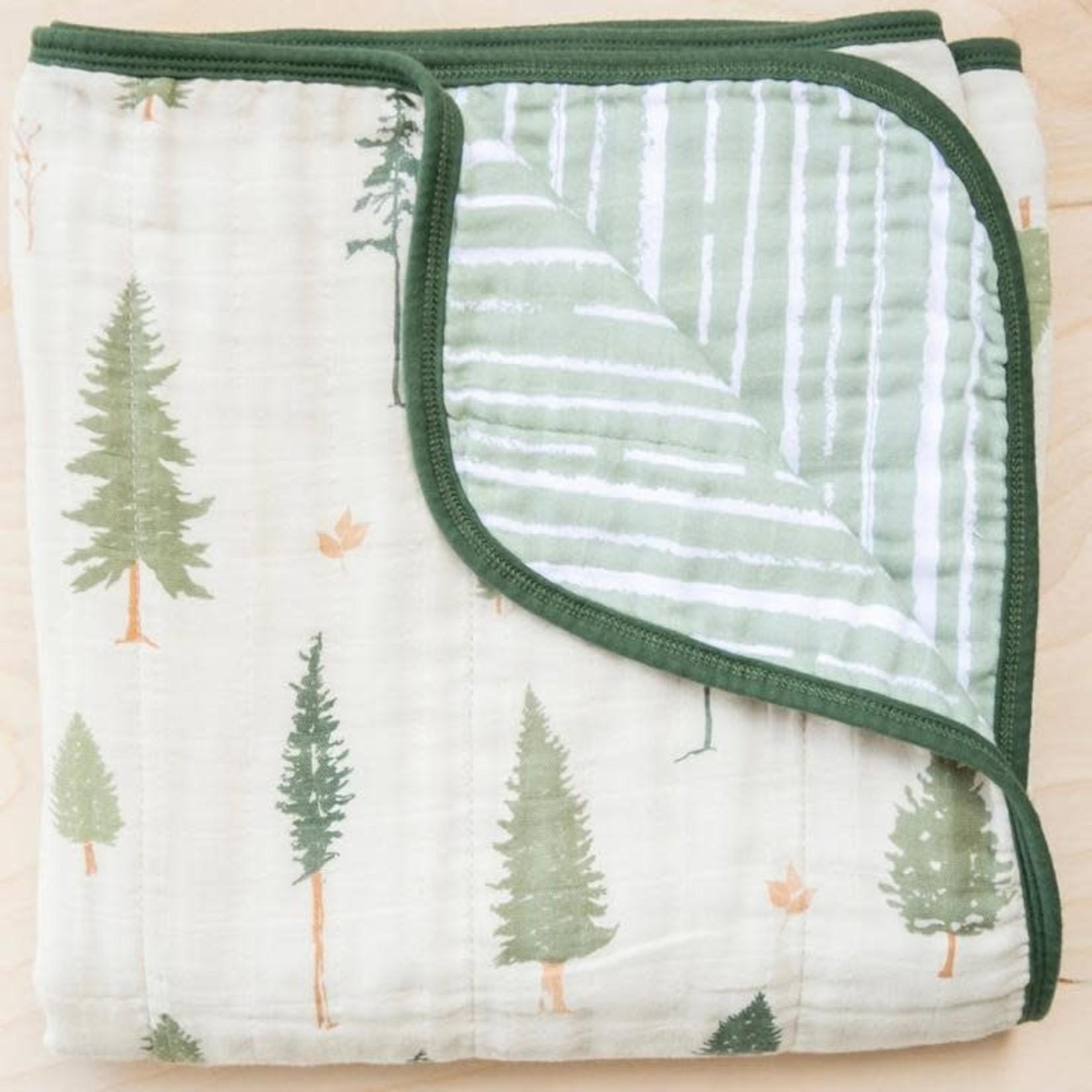 Saranoni 4-Layer Pine Cotton Muslin Quilt