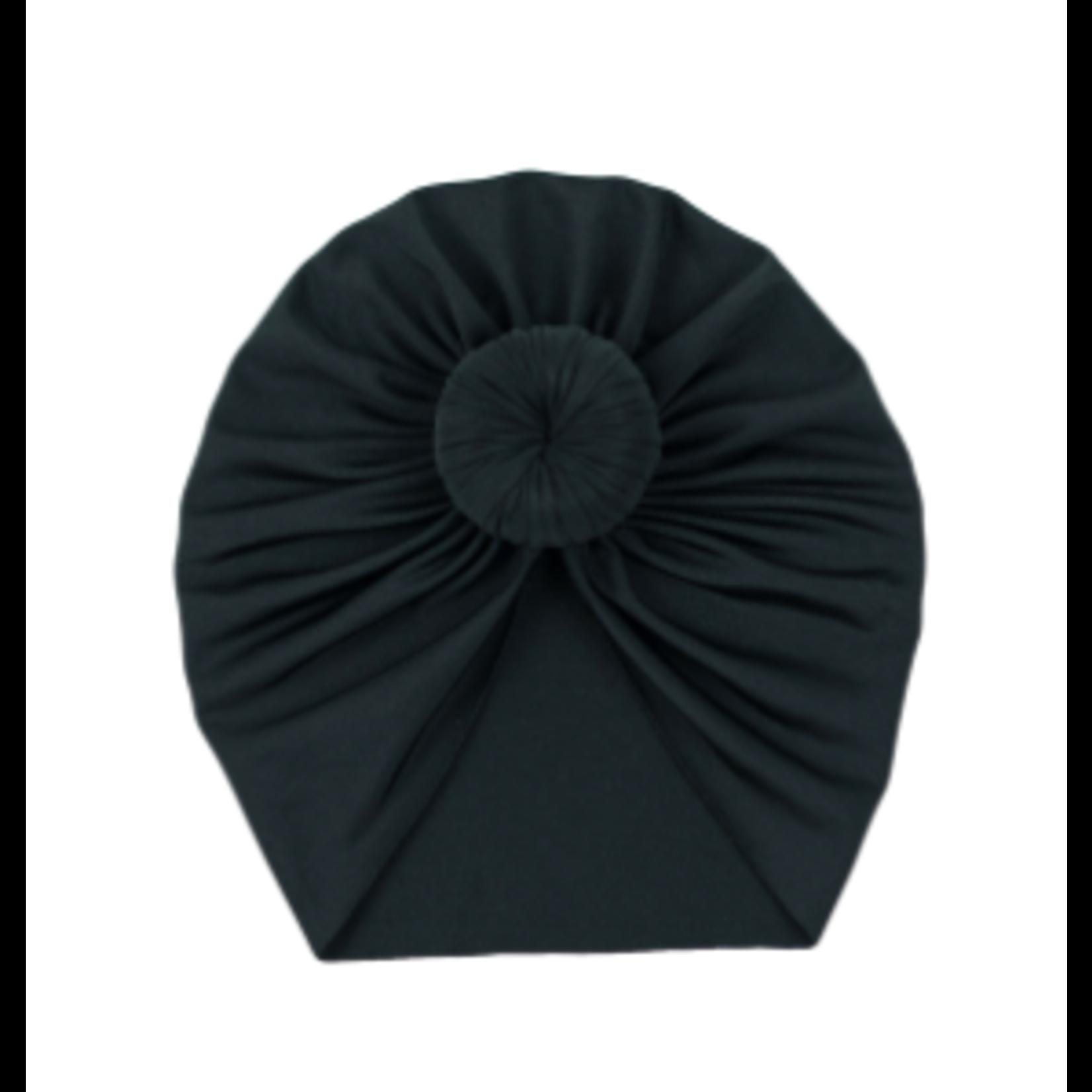 Angel Dear Headwrap, Black 0-6M
