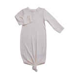 Angel Dear Knotted Gown, Ivory 0-3M