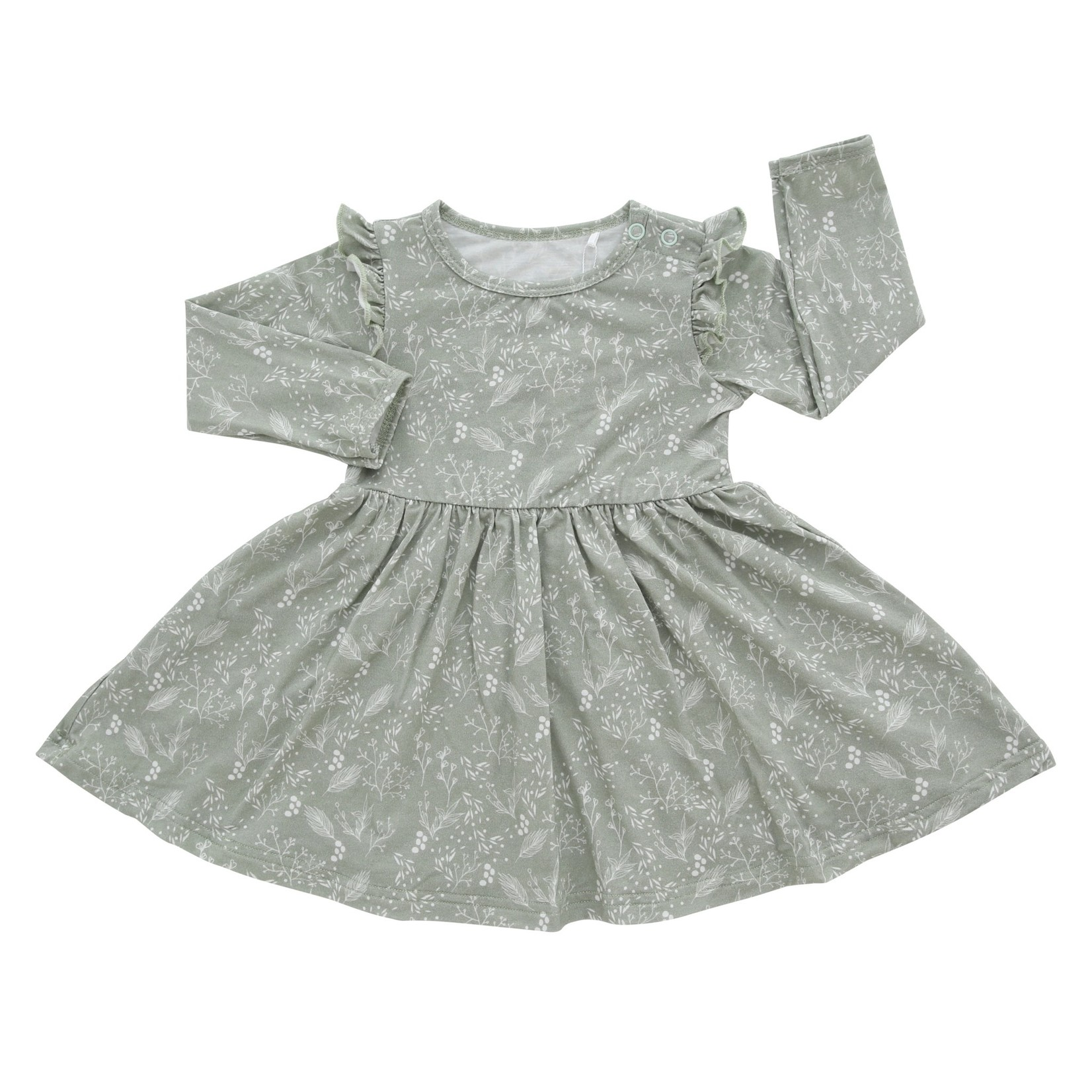 Emerson and Friends Baby's Breath Bamboo Long Sleeve Dress