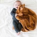 Saranoni Receiving Blanket (30'' x 40'') Camel Lush