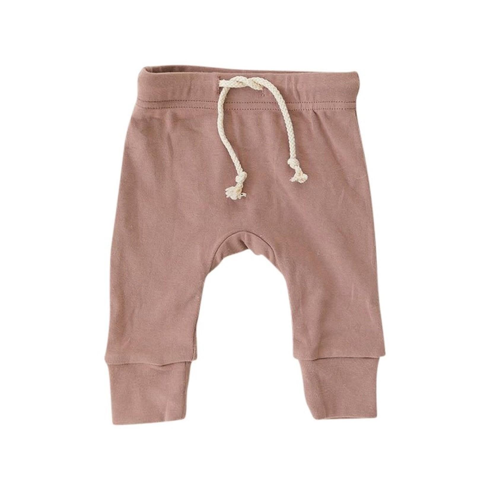Mebie Baby Cotton Blush Jogger Pants 18M