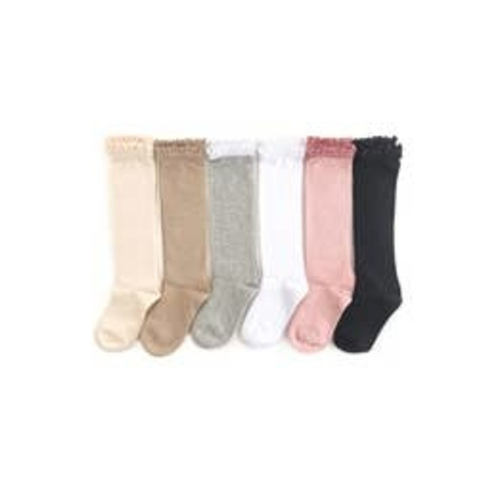 Little Stocking Co. Bundle Lace Top Basics + Neutrals
