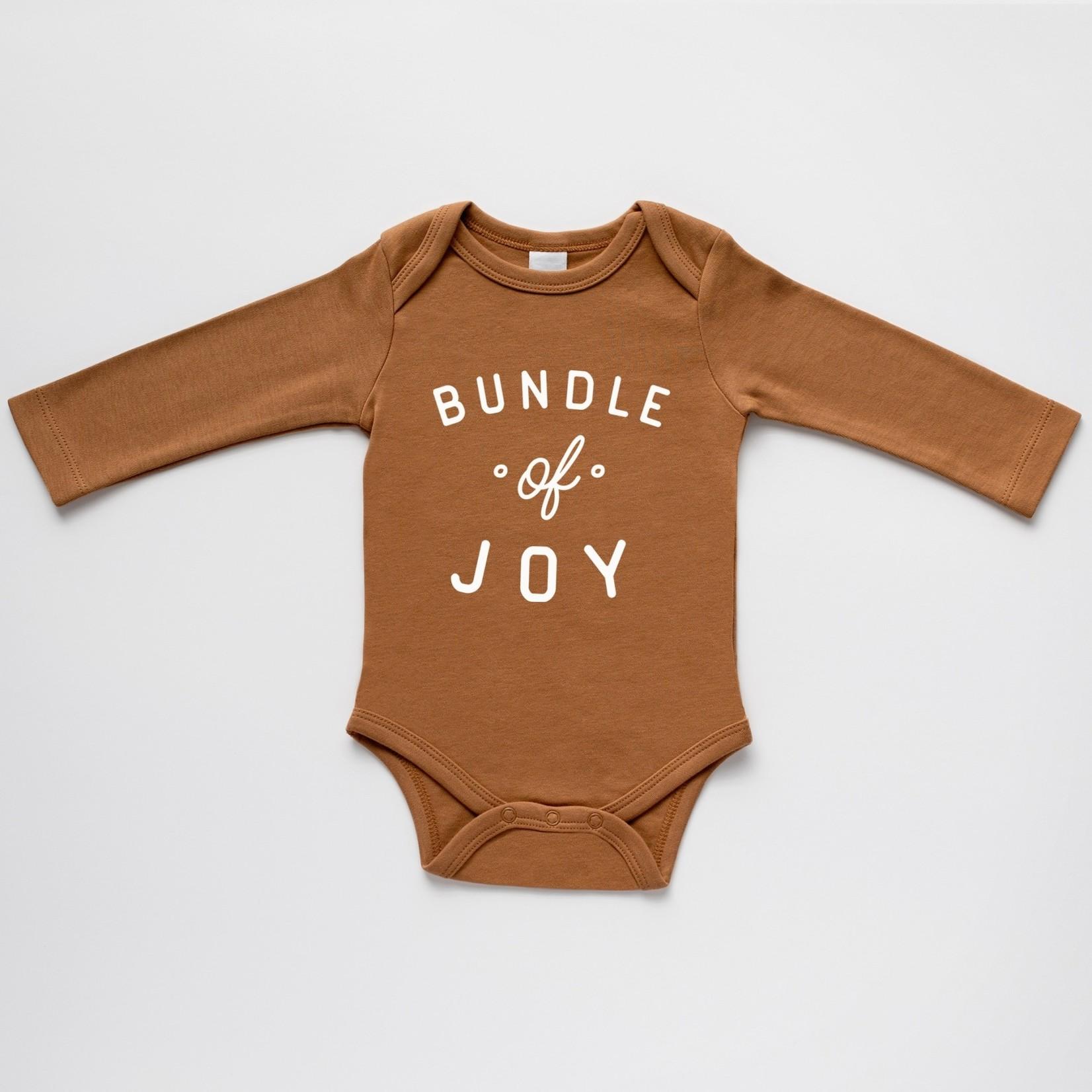 Gladfolk Bundle Of Joy Baby Bodysuit - Camel 0-3M