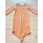 Angel Dear Knotted Gown, Pink 0-3M
