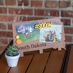 Prairie Dance South Dakota State Shape