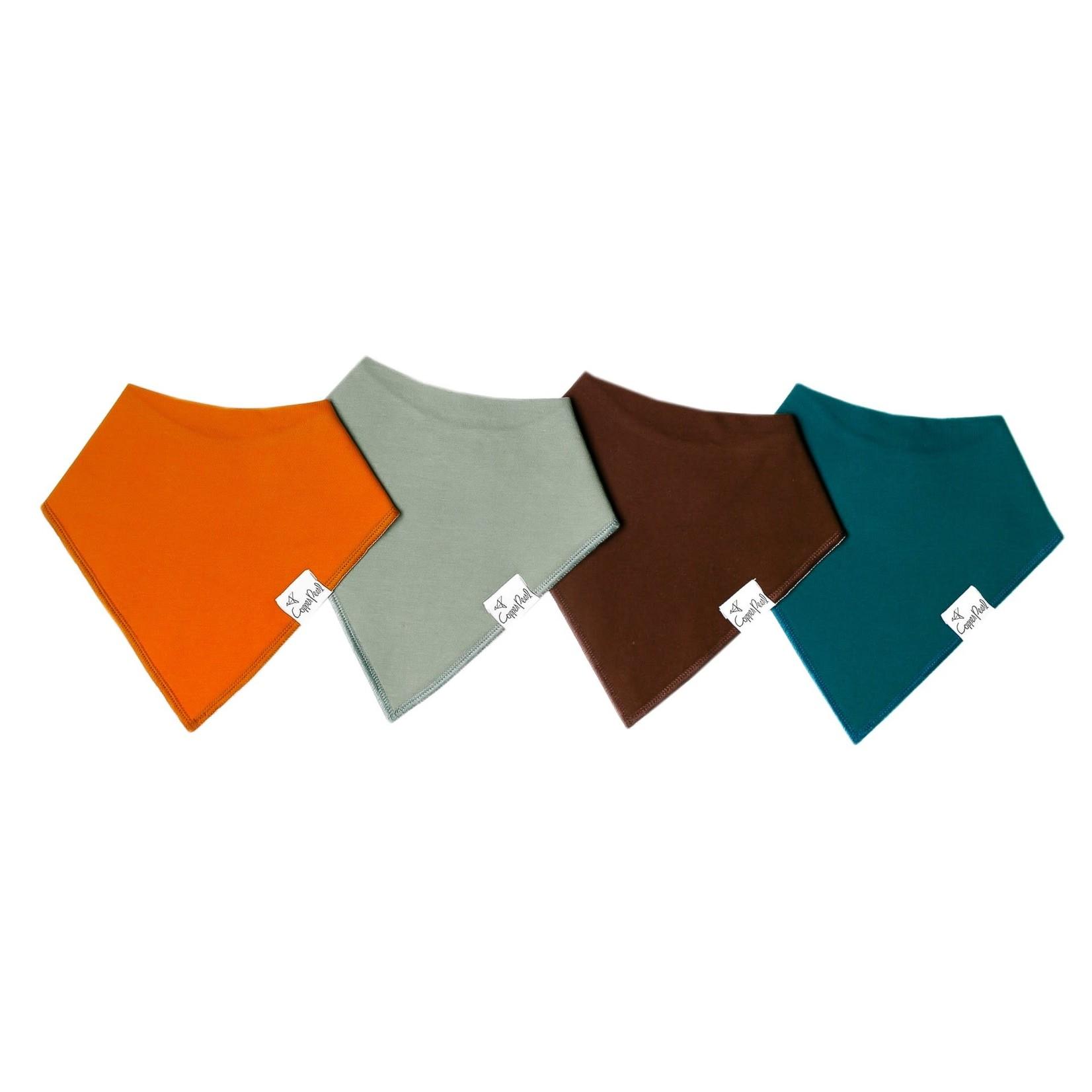 Copper Pearl Bibs - Blaze Set - 4 pack