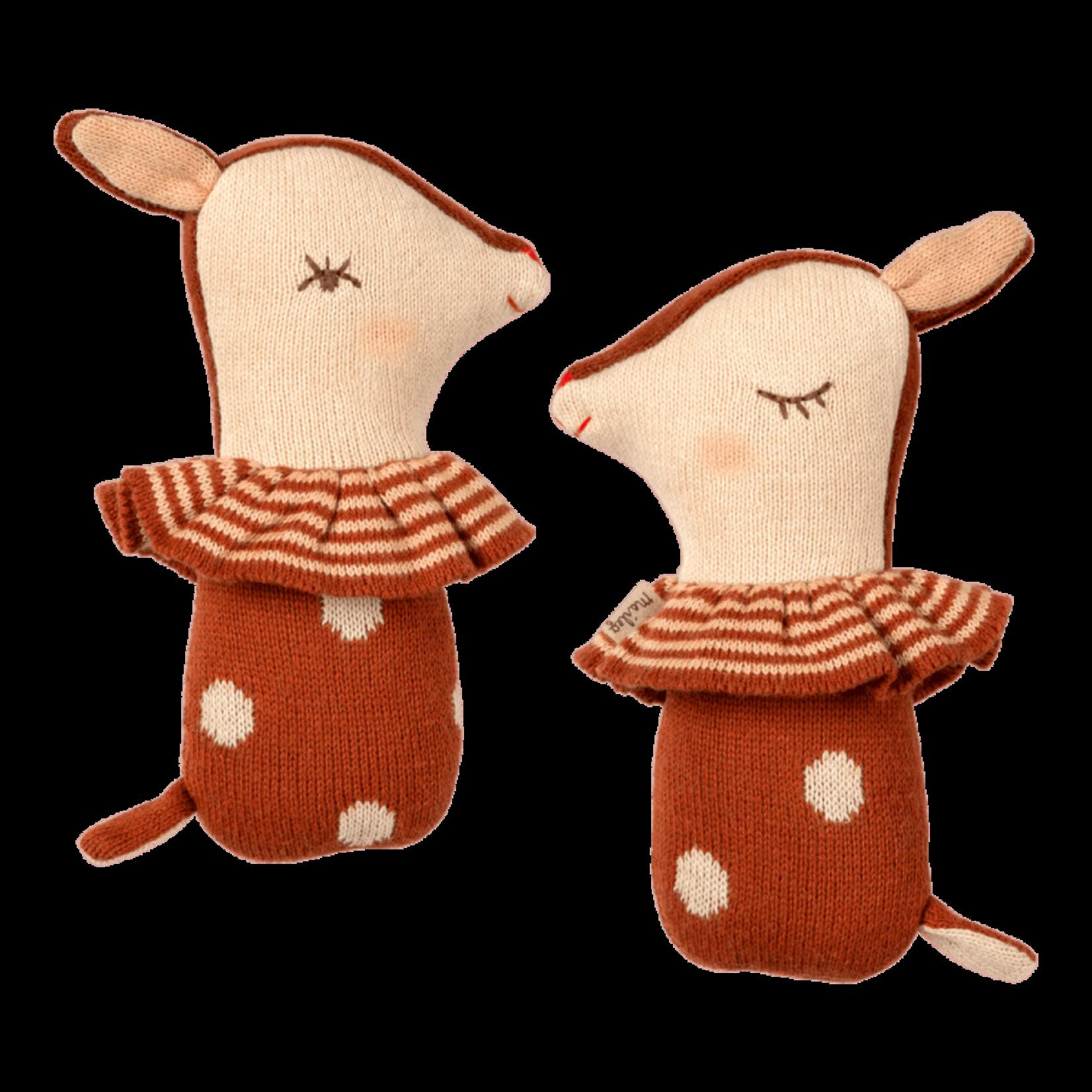 Maileg Bambi Rattle - Rusty