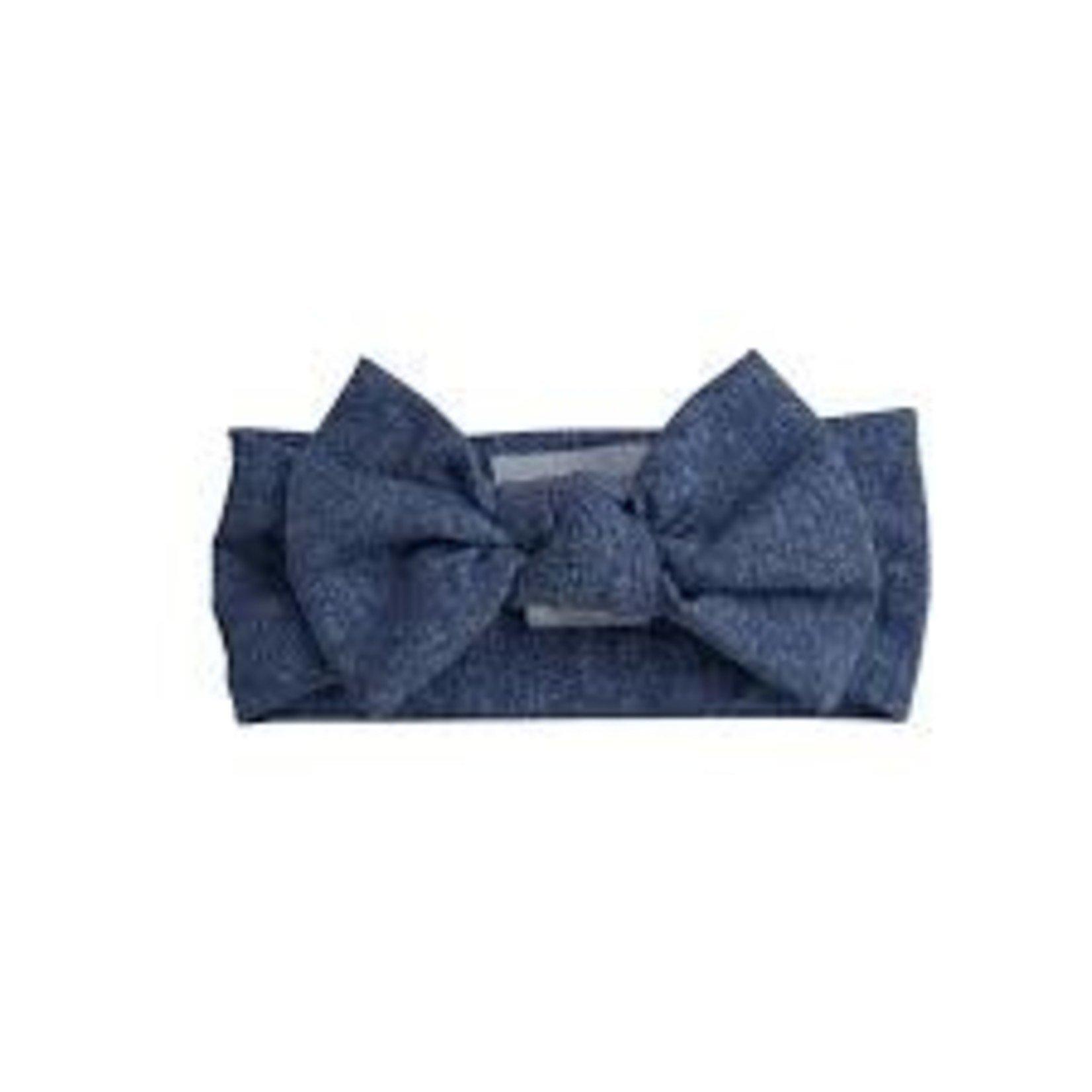 Angel Dear Headband, Denim Blue