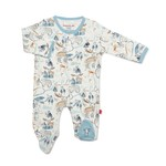 Magnetic Me Northern Lights Organic Cotton Magnetic Footie