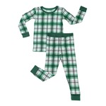 Little Sleepies Two Piece Pajama Set Noel Plaid