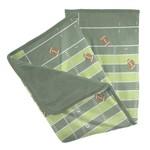Kickee Pants Print Stroller Blanket Football