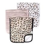 Copper Pearl Burp Cloths (3 pack) - Zara