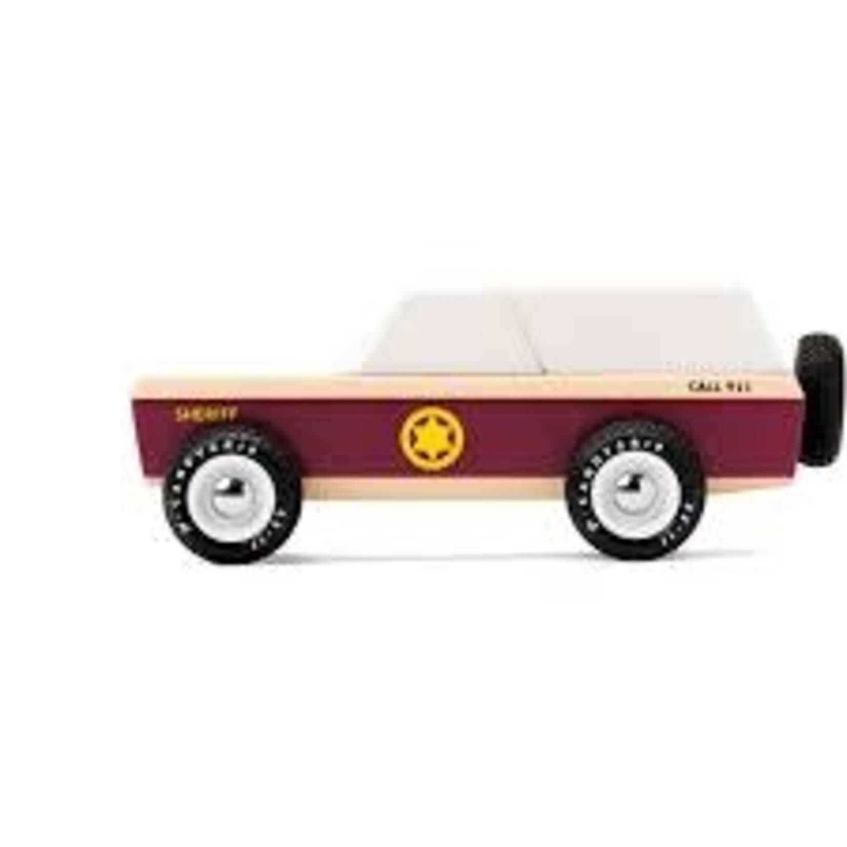 Candylab Toys Lone Sheriff Truck