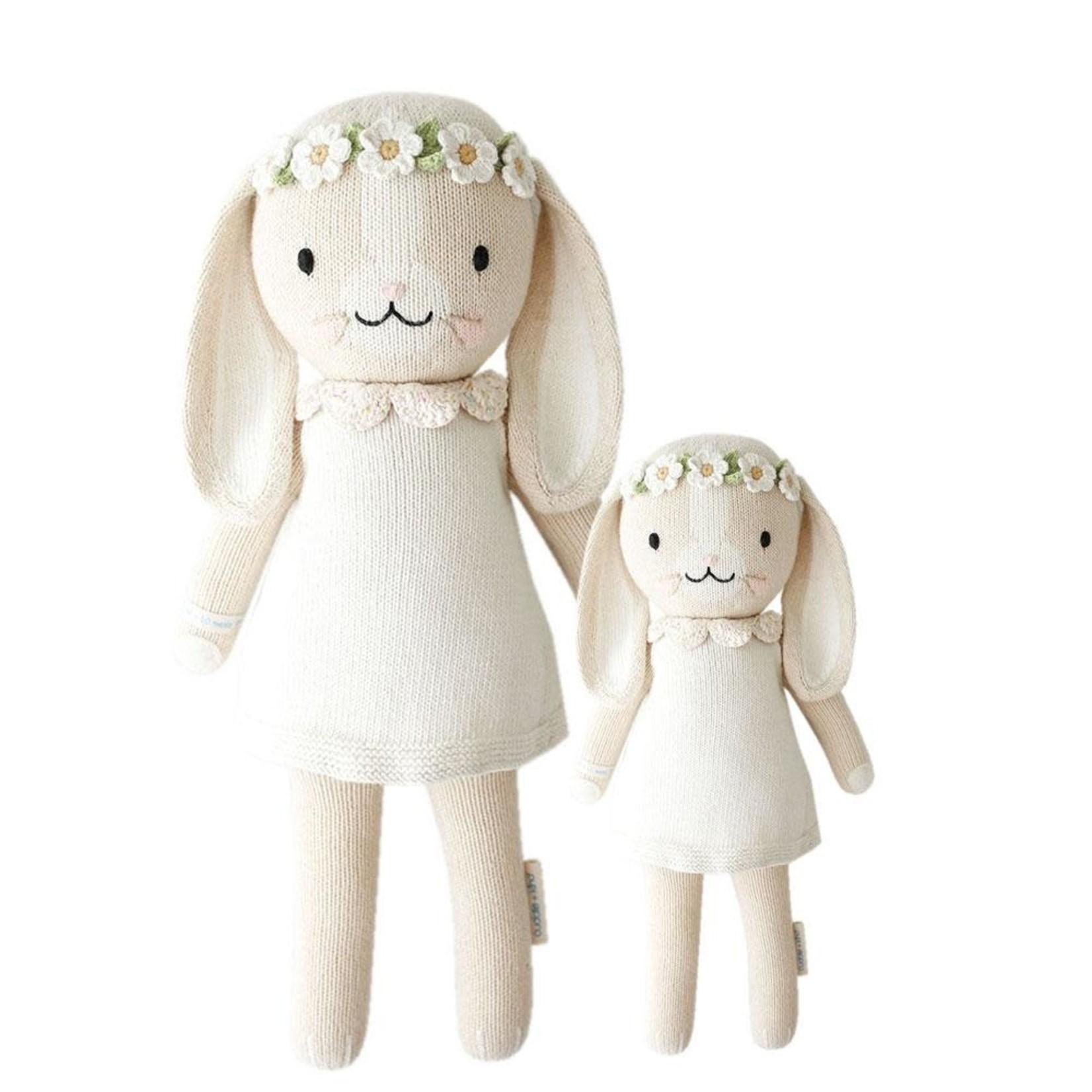 "Cuddle and Kind Hannah the bunny little 13"" (Ivory)"